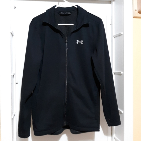 Under Armour Other - Under Armour Fleece Cold Gear Full Zip Jacket M